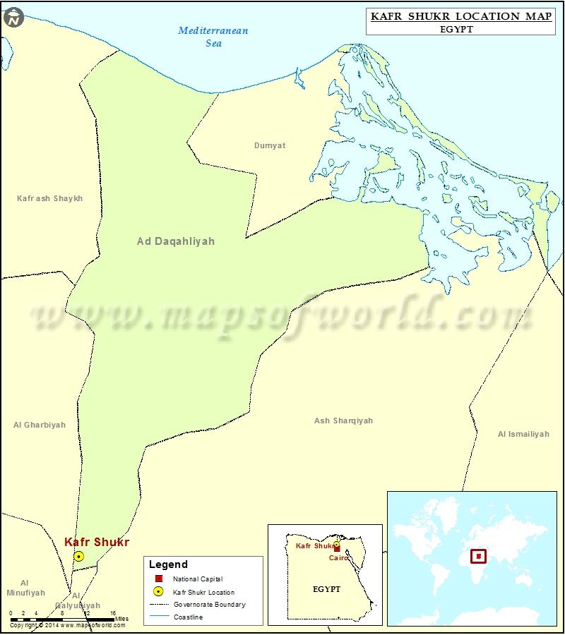 Where is Kafr Shukr