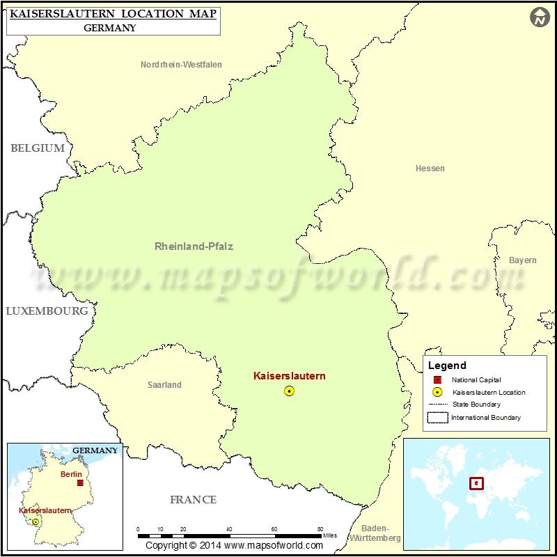 Where is Kaiserslautern