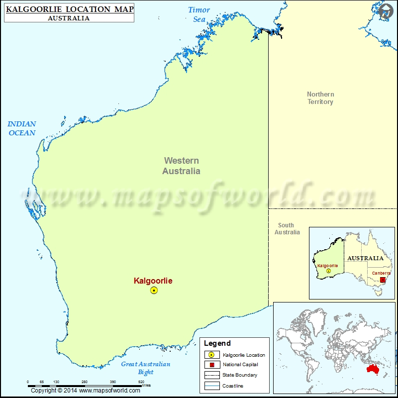 Where is Kalgoorlie