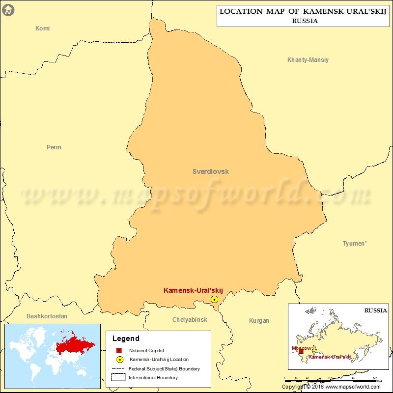 Where is Kamensk-Uralskij