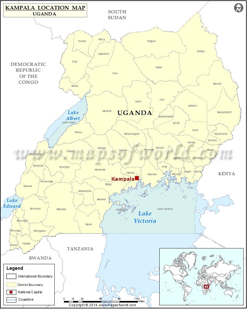 Where is Kampala