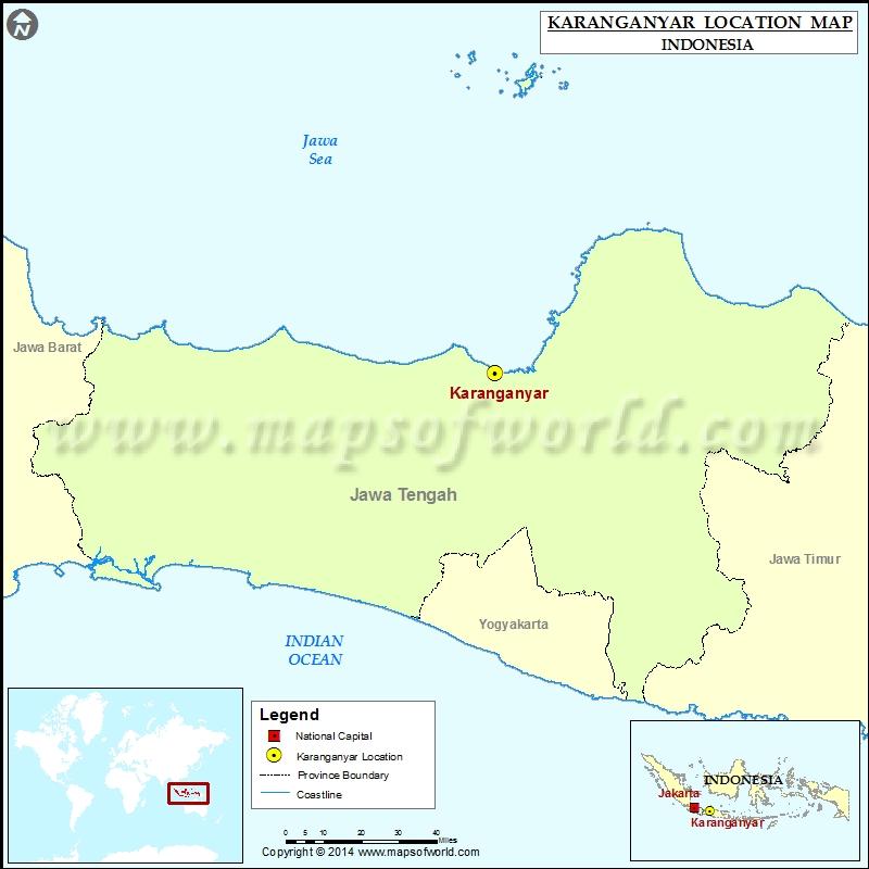 Where is Karanganyar