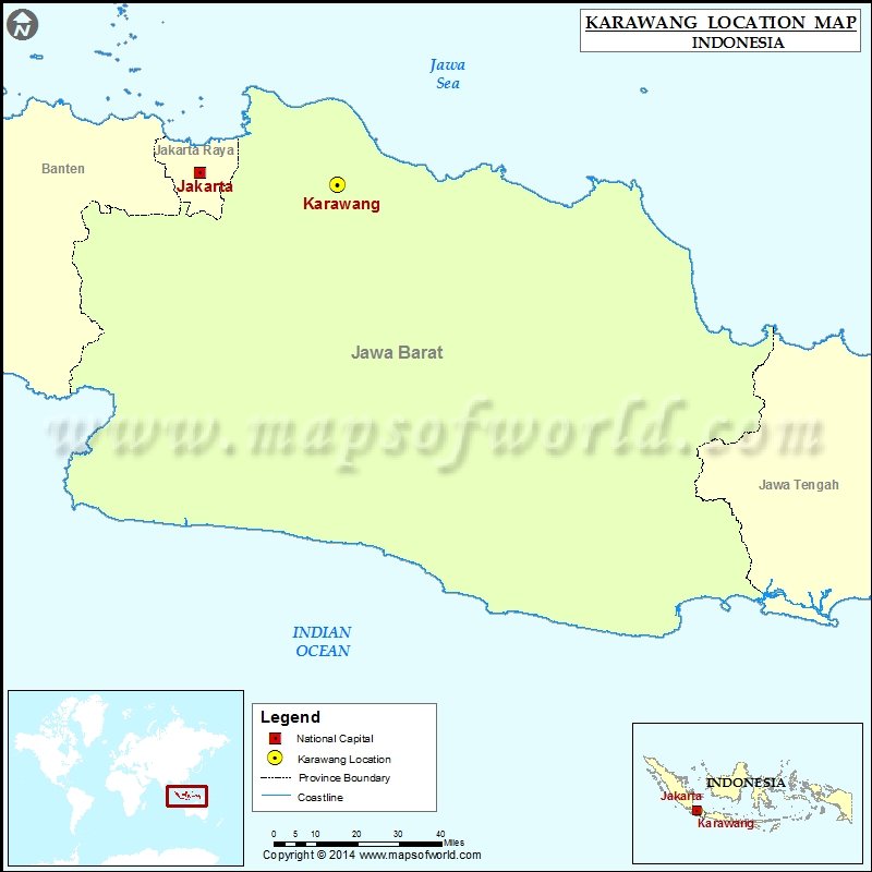 Where is Karawang