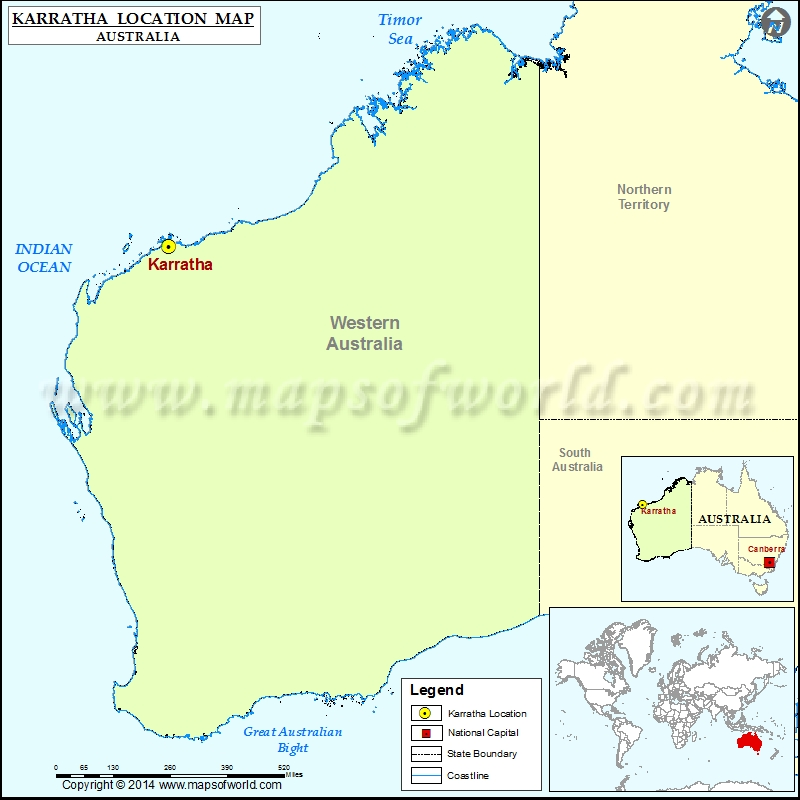Where is Karratha