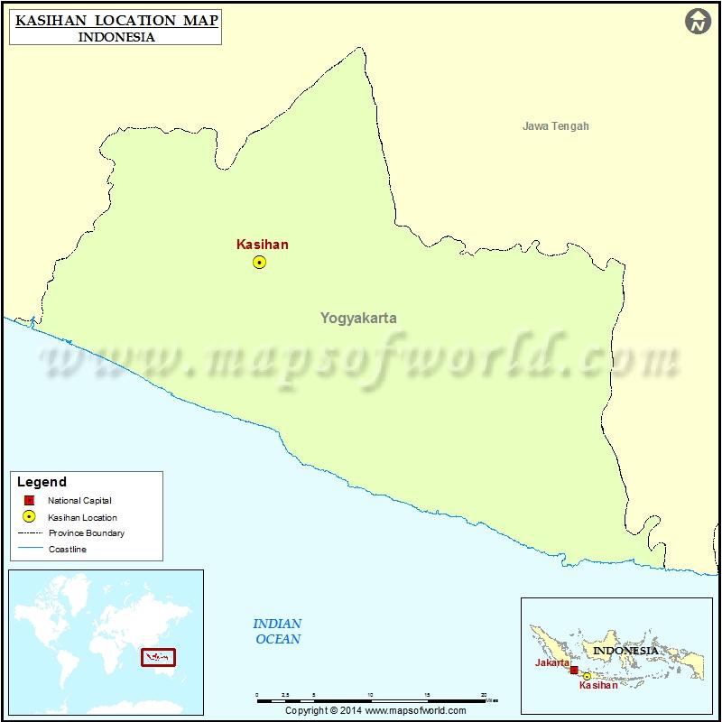 Where is Kasihan