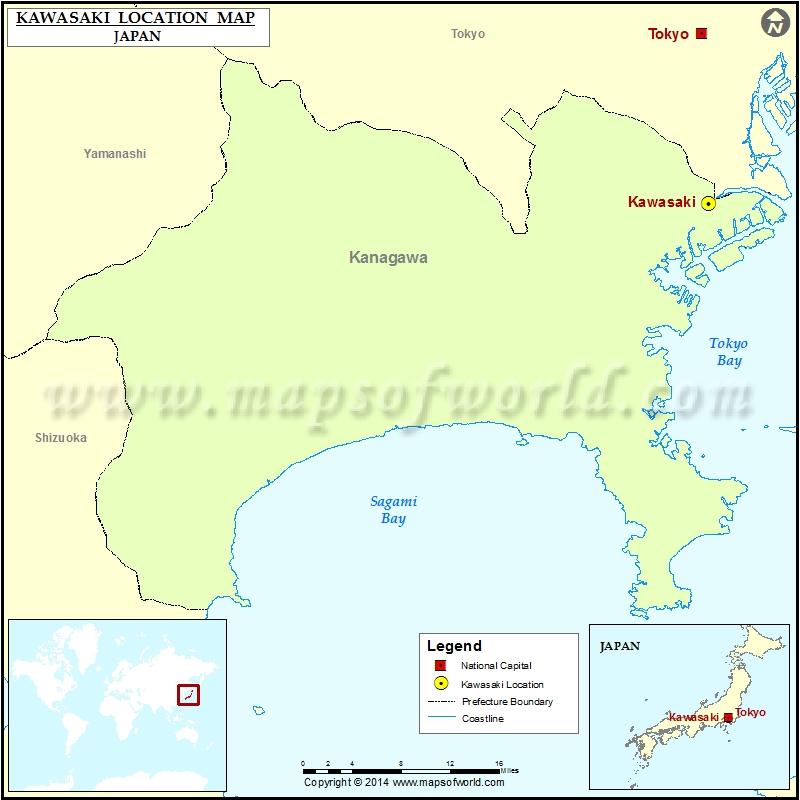 Where is Kawasaki
