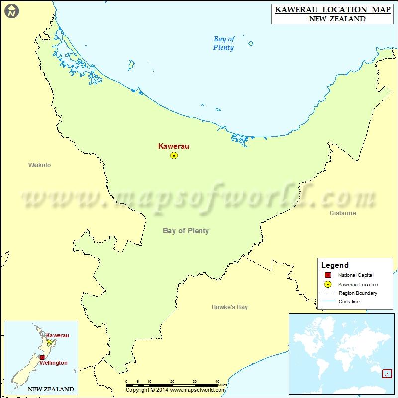 Where is Kawerau