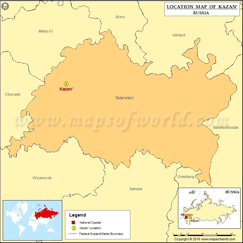 Where is Kazan | Location of Kazan in Russia Map on tynda russia map, volsk russia map, serpukhov russia map, volga river, ufa russia map, tatarstan russia map, elista russia map, vladivostok map, tula russia map, markovo russia map, grozny russia map, novgorod russia map, yurga russia map, bashkiria russia map, saint petersburg, crimea russia map, samara russia map, nizhny novgorod, warsaw russia map, yaroslavl russia map, irkutsk map, moscow map, astrakhan russia map,
