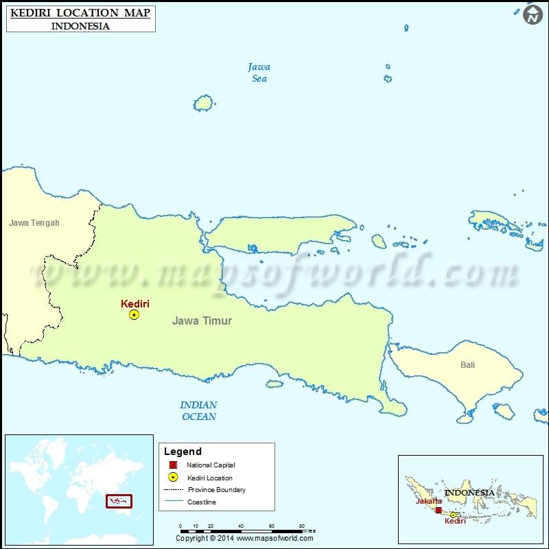 Where is Kediri