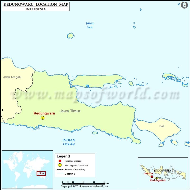 Where is Kedungwaru