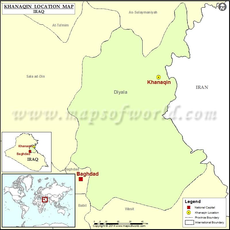 Where is Khanaqin