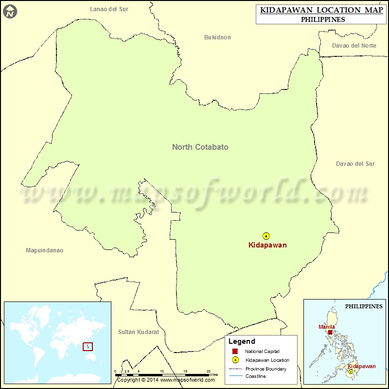 Where is Kidapawan