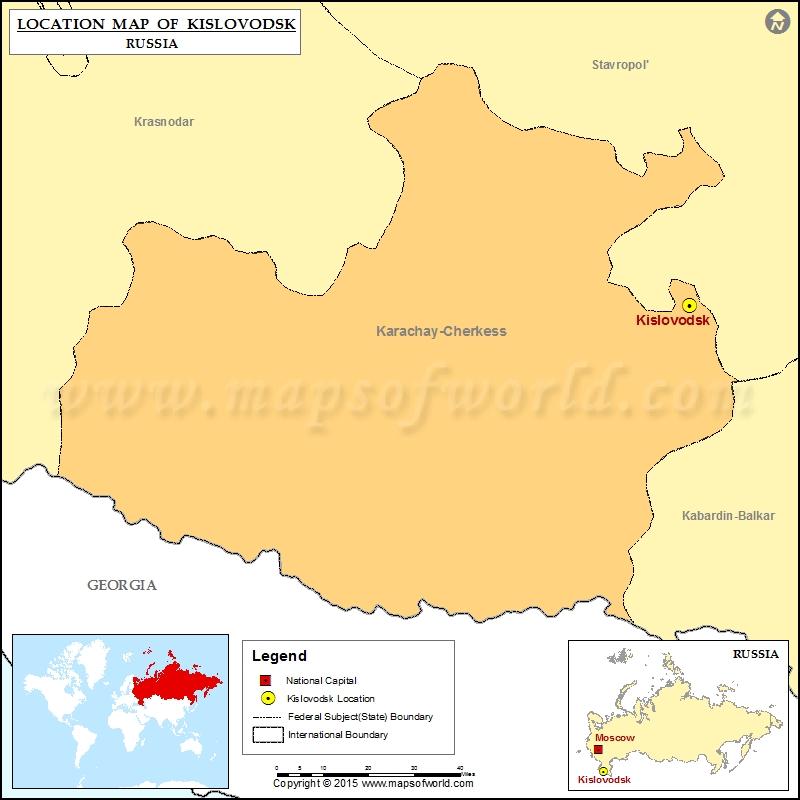 Where is Kislovodsk