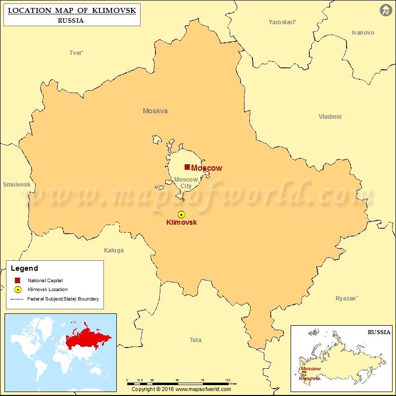Where is Klimovsk