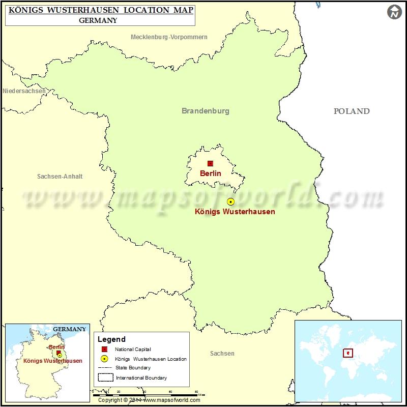 Where is Konigs Wusterhausen
