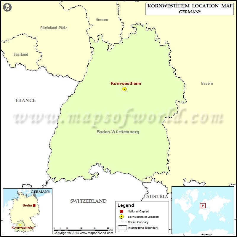 Where is Kornwestheim
