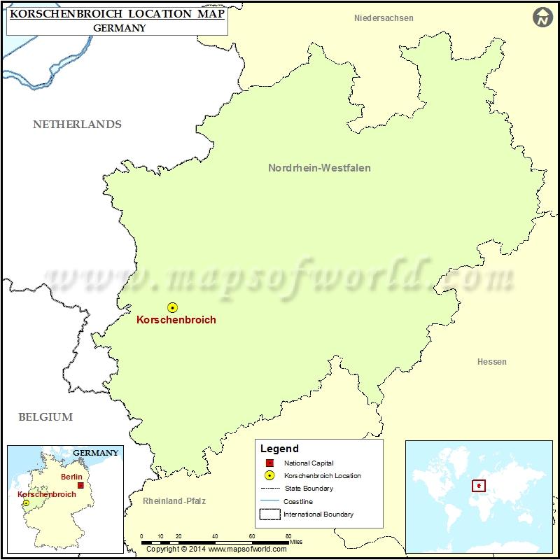 Where is Korschenbroich
