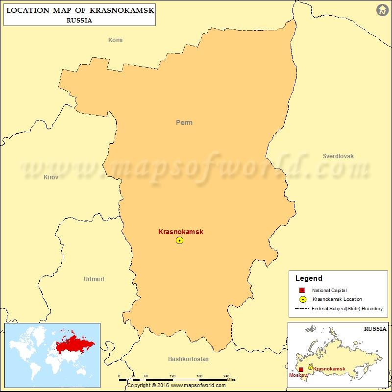 Where is Krasnokamsk