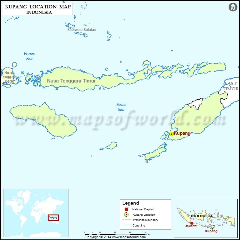 Where is Kupang