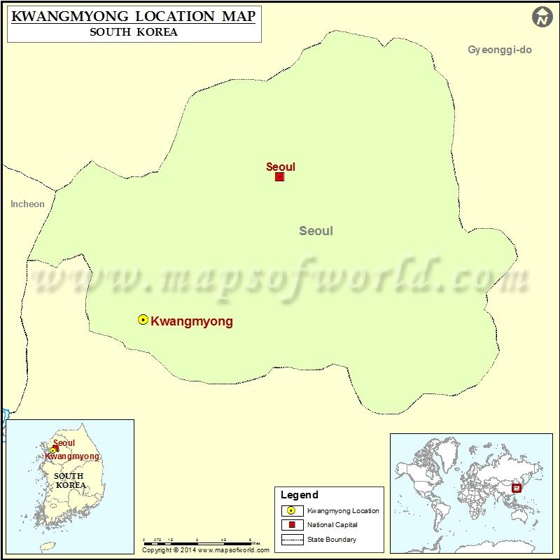 Where is Kwangmyong