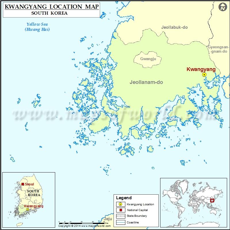 Where is Kwangyang