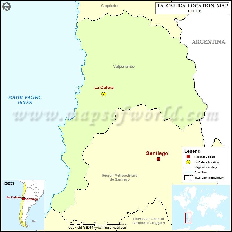 Where is La Calera