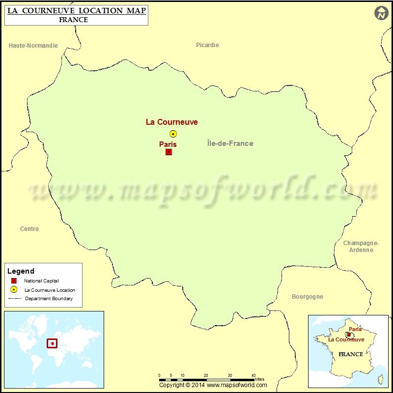 Where is La Courneuve