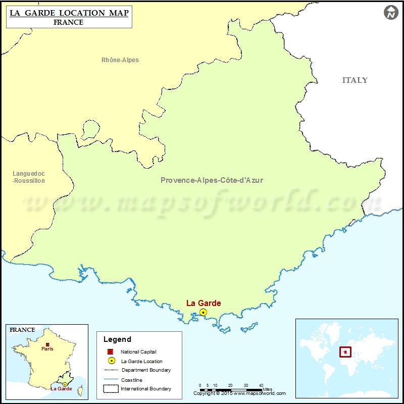 Where is La Garde