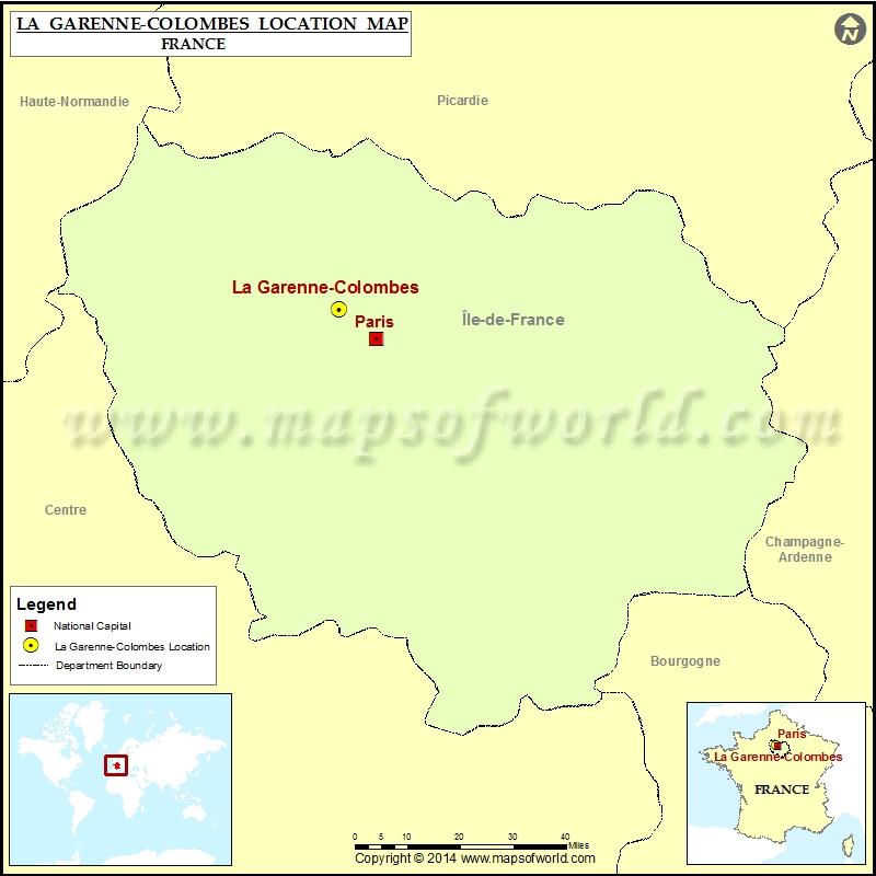Where is La Garenne-Colombes