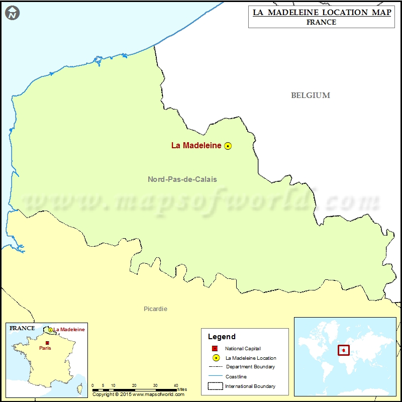 Where is La Madeleine