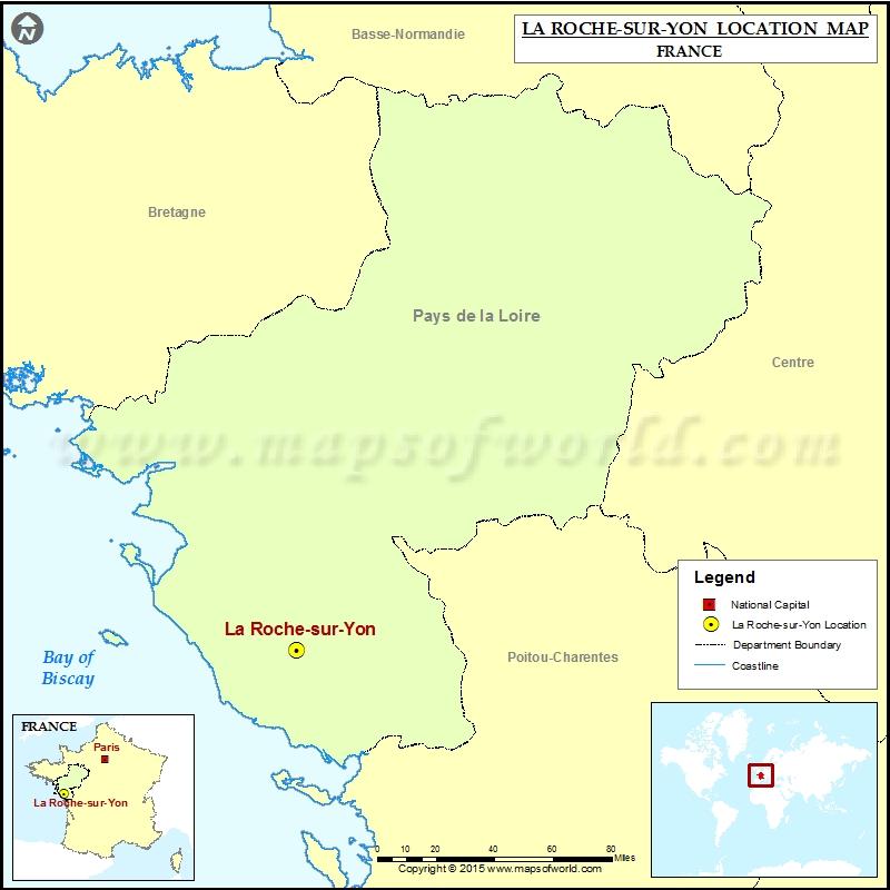 Where is La Roche-sur-Yon