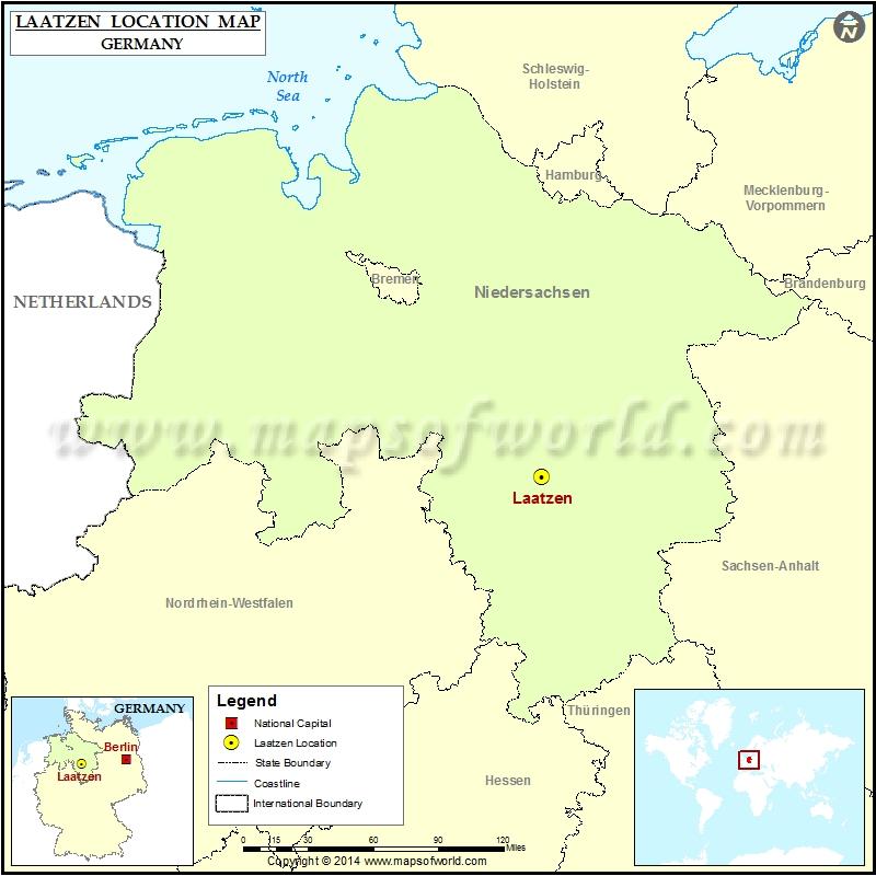 Where is Laatzen