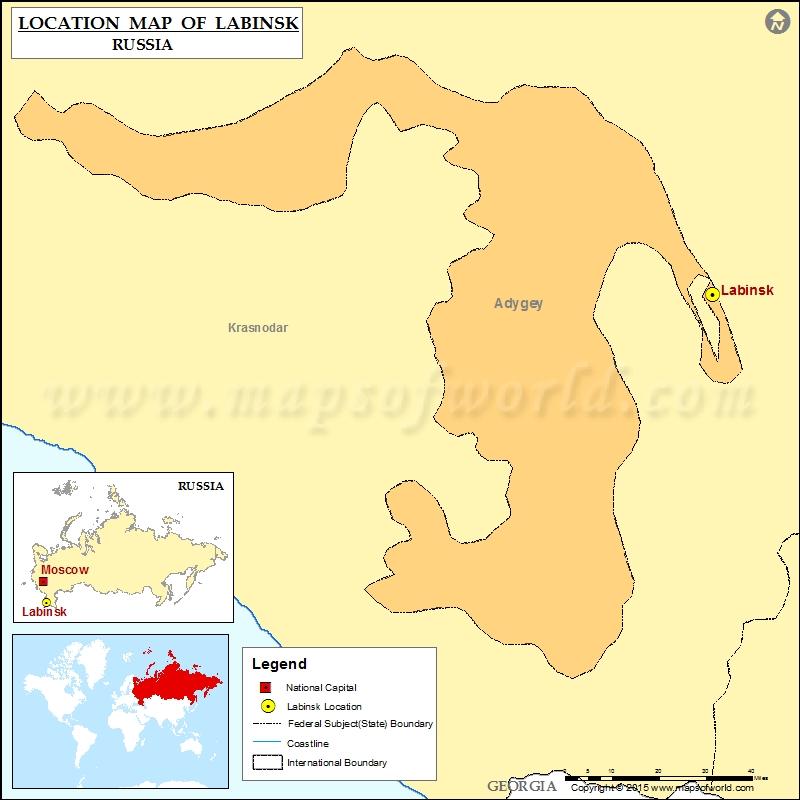Where is Labinsk