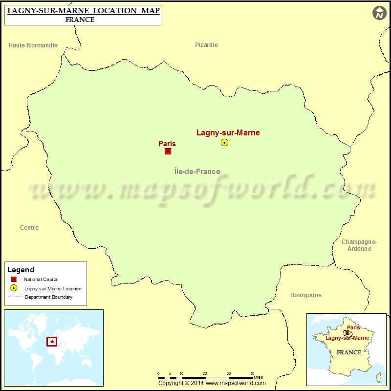 Where is Lagny-sur-Marne