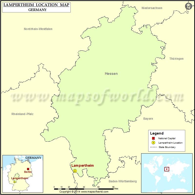 Where is Lampertheim