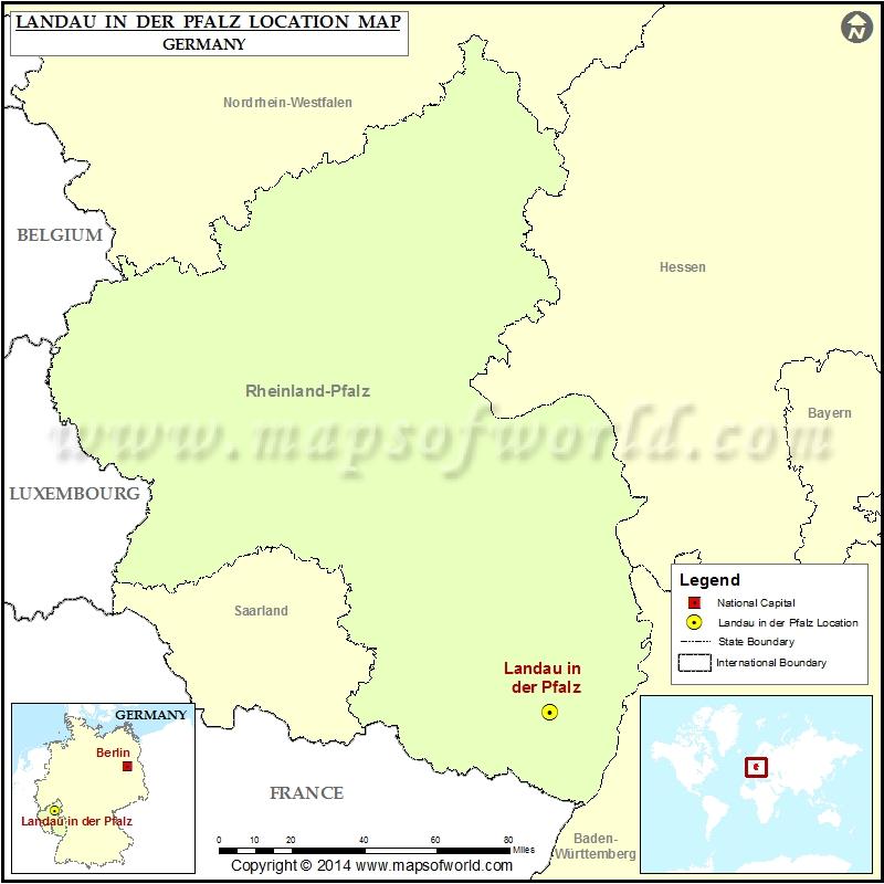Where is Landau in der Pfalz
