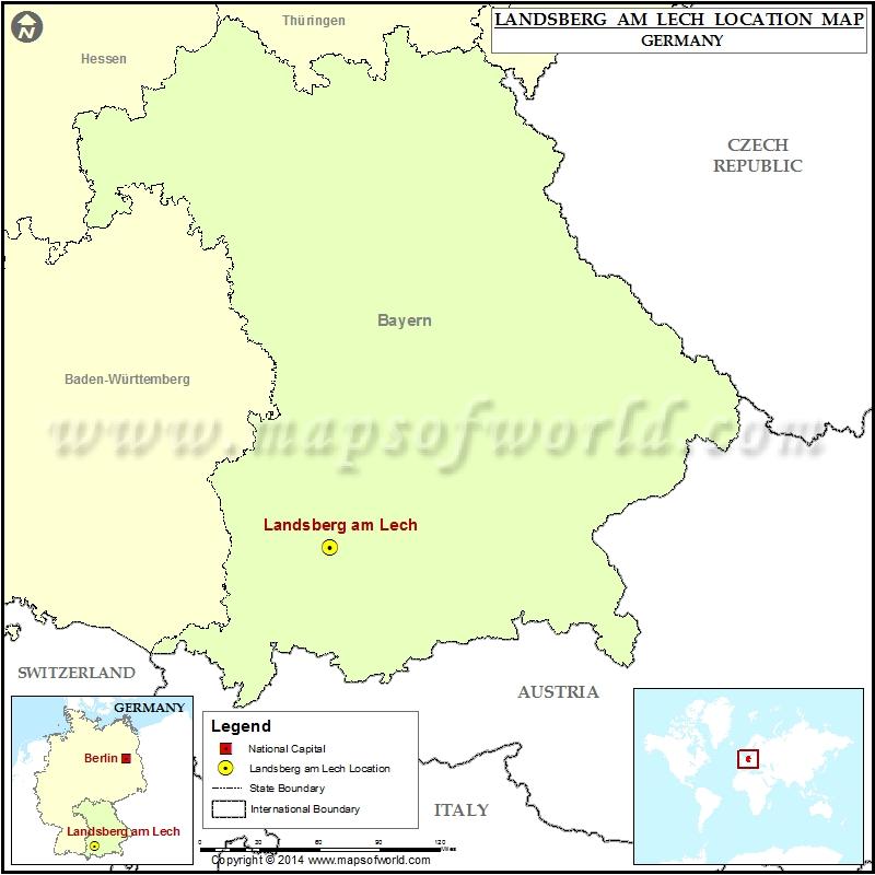 Where is Landsberg am Lech