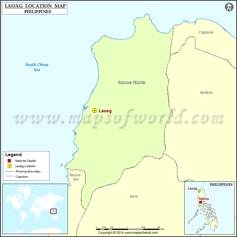 Where is Laoag