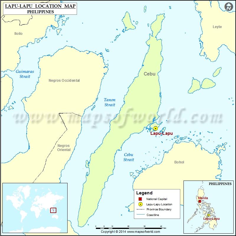 Where is Lapu-Lapu