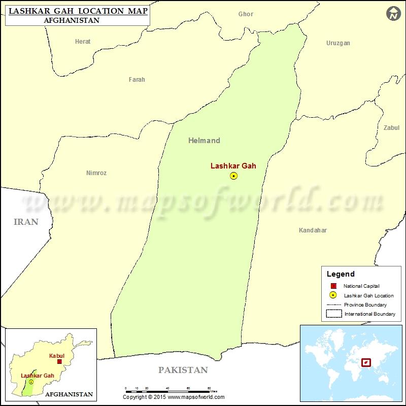 Where is Lashkar Gah