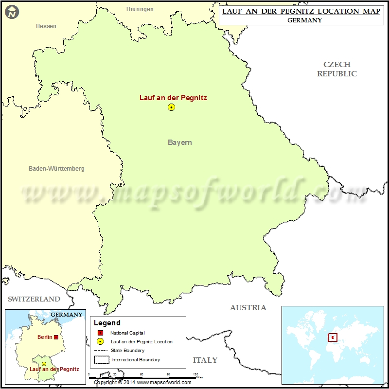 Where is Lauf an der Pegnitz