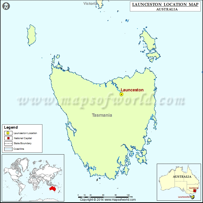 Where is Launceston