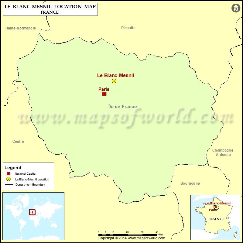 Where is Le Blanc-Mesnil