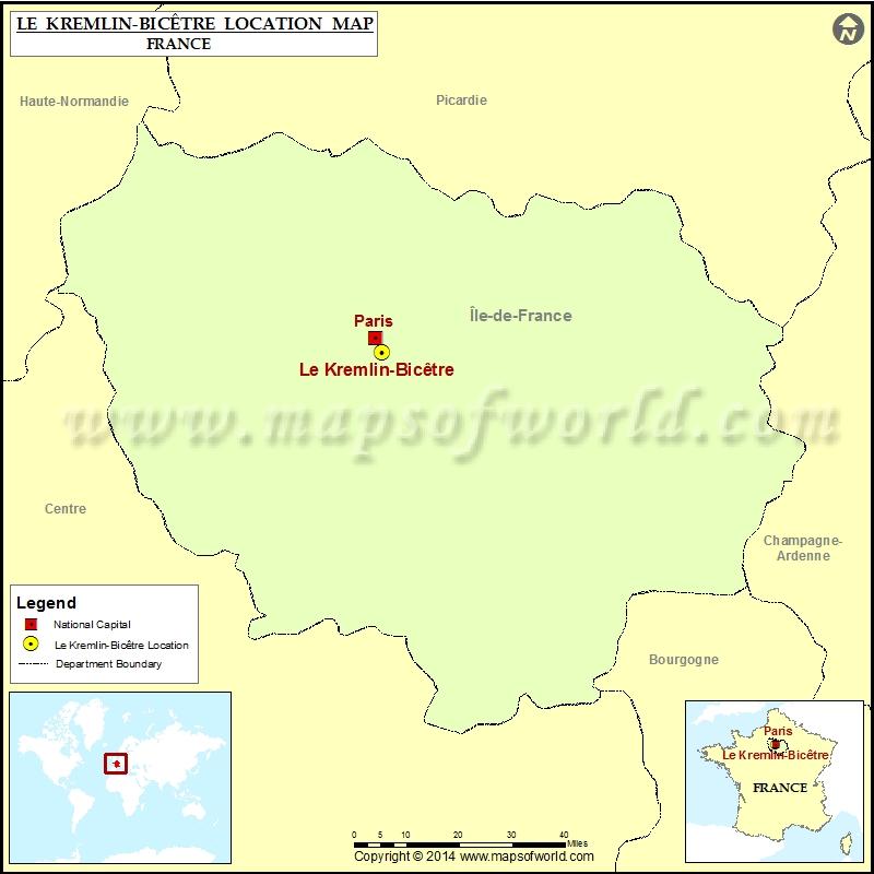 Where is Le Kremlin-Bicetre
