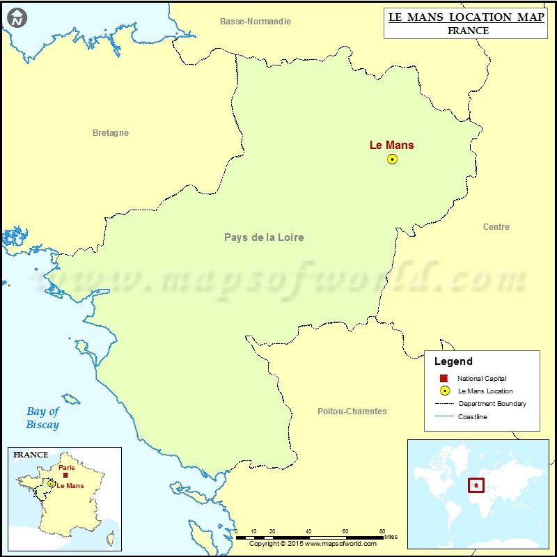 Where is Le Mans