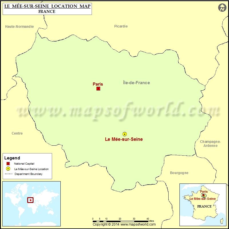 Where is Le Mee-sur-Seine