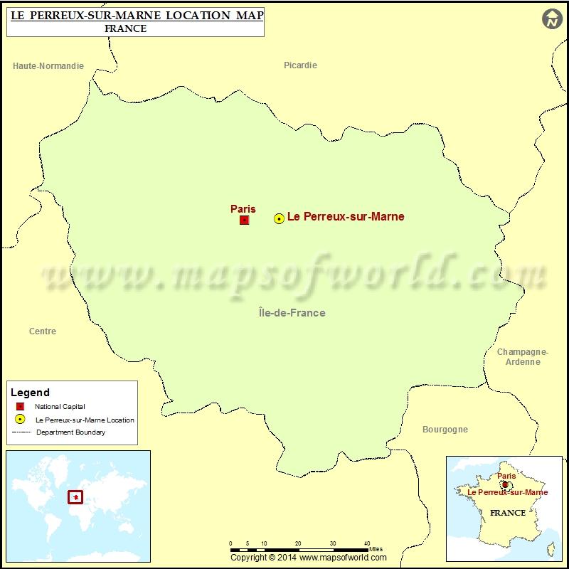 Where is Le Perreux-sur-Marne