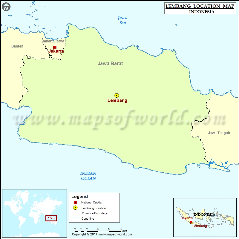 Where is Lembang