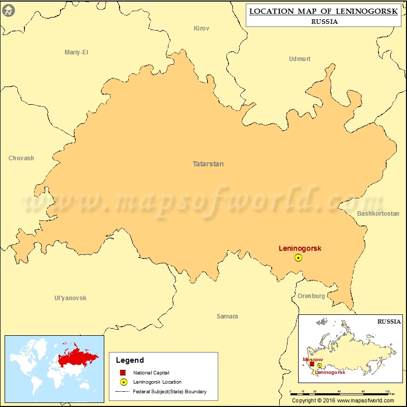 Where is Leninogorsk