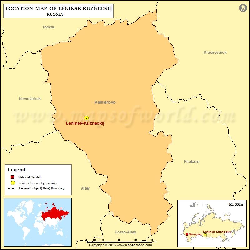 Where Is LeninskKuzneckij Location Of LeninskKuzneckij In - Leninsk map